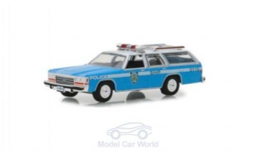 Ford LTD 1/64 Greenlight Crown Victoria Wagon NYPD 1988 miniature