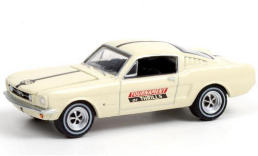 Ford Mustang 1/64 Greenlight Fastback Tournament of Thrills 1965 voiture Daredevils No.56 miniature
