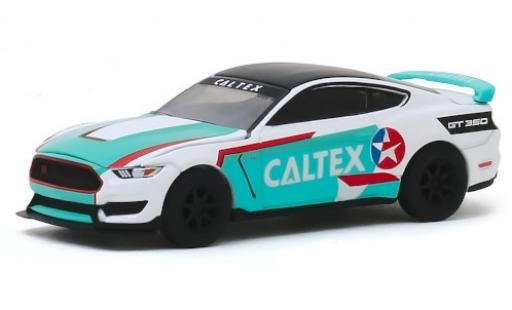 Ford Mustang 1/64 Greenlight Shelby GT350R Caltex 2019 miniature