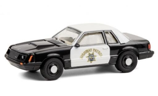 Ford Mustang 1/64 Greenlight SSP California Highway Patrol 1982 diecast model cars