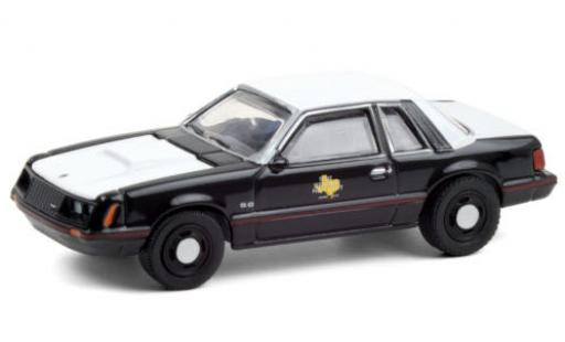 Ford Mustang 1/64 Greenlight SSP Texas Department of Public Safety 1982 diecast model cars