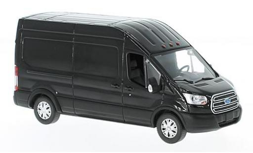 Ford Transit 1/43 Greenlight High Roof black 2017 diecast model cars