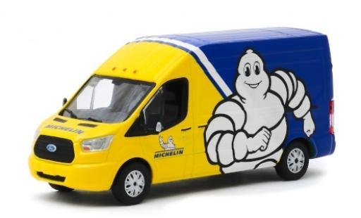 Ford Transit 1/43 Greenlight LWB Michelin 2019 Hochdachkastenwagen modellautos