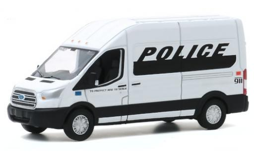 Ford Transit 1/64 Greenlight Police 2019 miniature