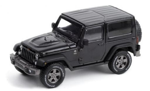 Jeep Wrangler 1/43 Greenlight 75th Anniversary Edition black 2016 Dach abnehmbar diecast model cars
