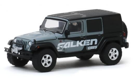 Jeep Wrangler 1/64 Greenlight Unlimited Falken Tires 2014 miniature