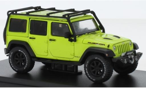 Jeep Wrangler 1/43 Greenlight Unlimited Rubicon verte 2016 miniature