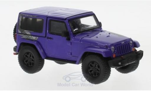 Jeep Wrangler 1/43 Greenlight Winter Edition lila 2017 miniature