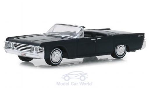 Lincoln Continental 1/64 Greenlight métallisé grise 1965 miniature