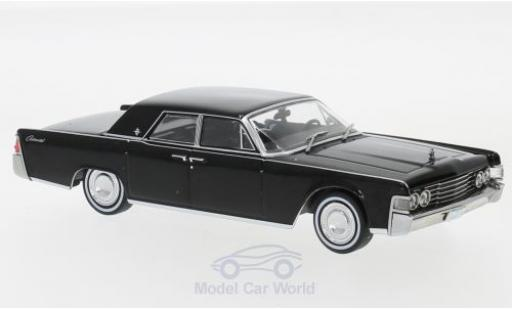 Lincoln Continental 1/43 Greenlight noire The Matrix 1999 1965 miniature