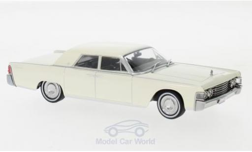 Lincoln Continental 1/43 Greenlight blanche 1965 miniature