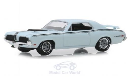 Mercury Cougar 1/64 Greenlight Eliminator grise/noire 1970 miniature