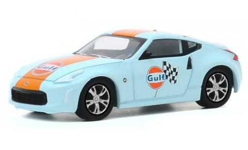 Nissan 370Z 1/64 Greenlight Gulf 2020 miniature