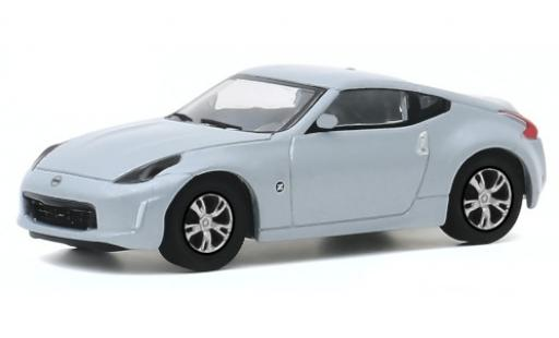 Nissan 370Z 1/64 Greenlight grey 2020 diecast model cars