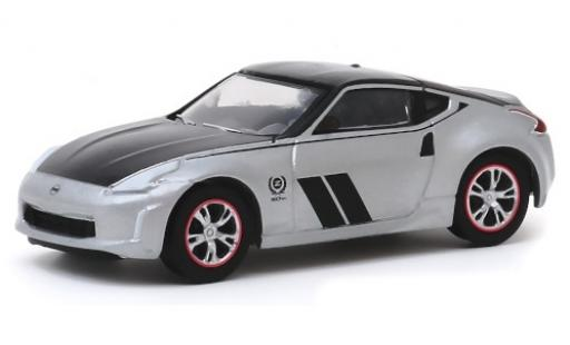 Nissan 370Z 1/64 Greenlight grey/black 2020 50th Anniversaire diecast model cars