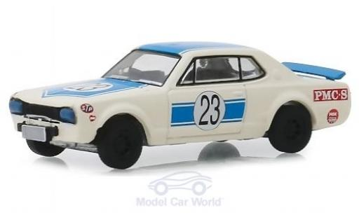 Nissan Skyline 1/64 Greenlight 2000 GT-R RHD No.23 1971 miniatura
