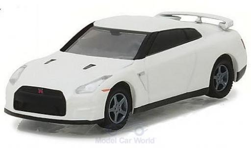 Nissan Skyline R35 1/64 Greenlight GT-R blanche 2014 miniature