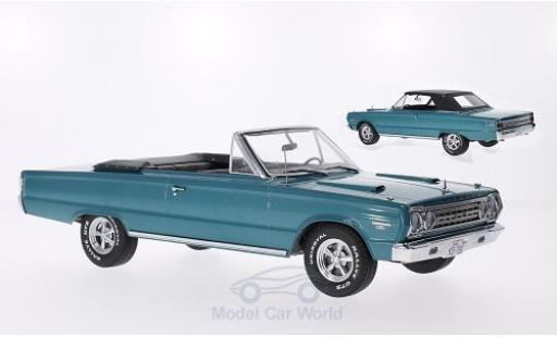 Plymouth Belvedere 1/18 Greenlight GTX Convertible metallic-türkis 1967 aus dem Film - Tommy Boy Softtop liegt bei miniature
