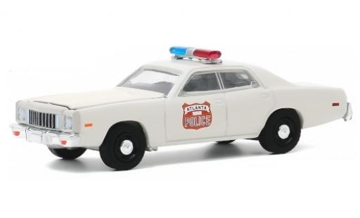 Plymouth Fury 1/64 Greenlight Atlanta Police 1975 miniature