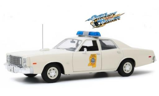 Plymouth Fury 1/18 Greenlight Mississippi Highway Safety Patrol 1975 Smokey and the Bandit miniature
