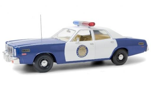 Plymouth Fury 1/18 Greenlight Osage County Sheriff 1975 diecast model cars