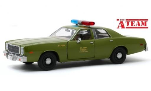 Plymouth Fury 1/24 Greenlight The A-Team 1977 miniature