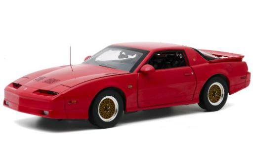 Pontiac Firebird 1/18 Greenlight GTA red 1988 diecast model cars