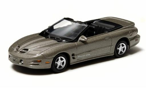 Pontiac Firebird 1/64 Greenlight T/A Convertible metallise grey 1999 sans Vitrine diecast model cars