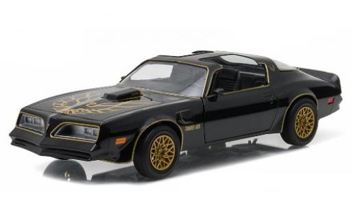 Pontiac Firebird 1/18 Greenlight Trans AM black/Dekor 1977 diecast model cars