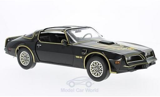 Pontiac Firebird 1/18 Greenlight Trans Am noire/gold Smokey and the Bandit I 1977 miniature
