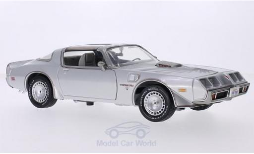 Pontiac Firebird 1979 1/18 Greenlight Trans Am grise/Dekor Joe Dirt miniature