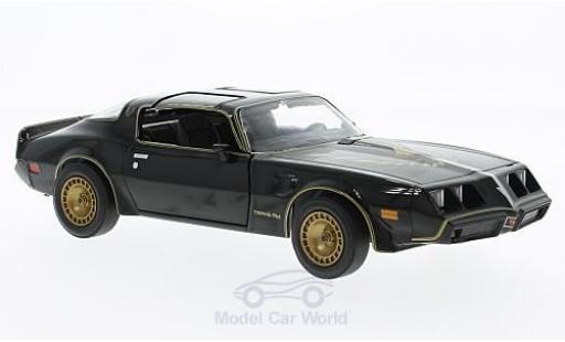 Pontiac Trans Am 1/24 Greenlight noire/gold Smokey and the Bandit II 1980 miniature
