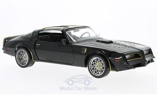 Pontiac Trans Am 1/18 Greenlight Tegos noire/gold Fast & Furious 1978 Artisan Collection miniature