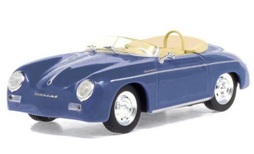 Porsche 356 1/43 Greenlight Speedster Super blue 1958 diecast model cars