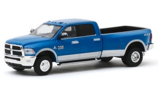 RAM 3 1/64 Greenlight 500 Big Horn Harvest Edition azul 2018 miniatura