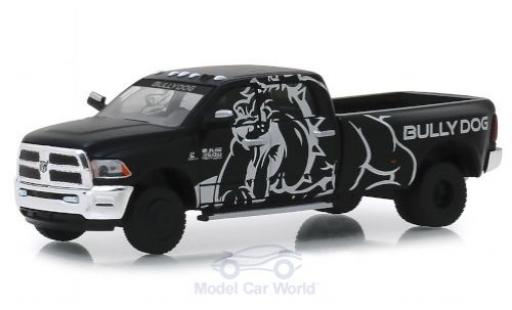 RAM 3 1/64 Greenlight 500 Laramie noire/Dekor Bully Dog 2018 miniature