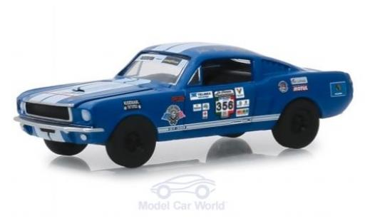 Shelby GT 350 1/64 Greenlight bleue No.356 La Carrera Panamericana 1965 miniature