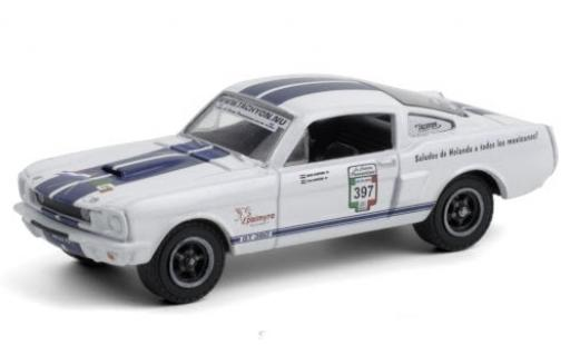 Shelby GT 1/64 Greenlight 350 No.397 Carrera Panamericana Mexico 1965 miniature