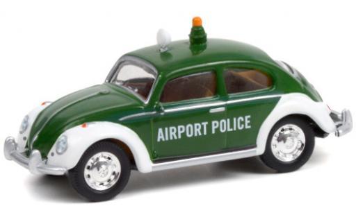 Volkswagen Beetle 1/64 Greenlight (Käfer) Kopenhagen Airport Police diecast model cars