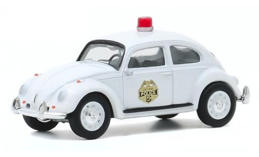 Volkswagen Beetle 1/64 Greenlight (Käfer) Scottsboro Police 1964 modellautos