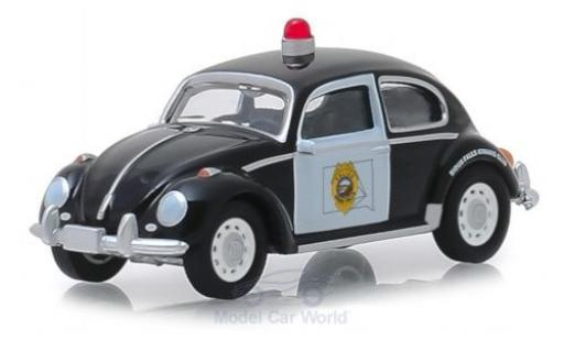 Volkswagen Beetle 1/64 Greenlight black/white Sioux Falls Police diecast