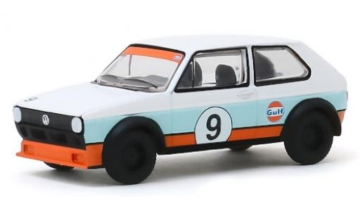 Volkswagen Golf 1/64 Greenlight I No.9 Gulf 1974 diecast model cars