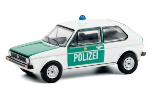 Volkswagen Golf 1/64 Greenlight I Polizei Berlin 1974 diecast model cars