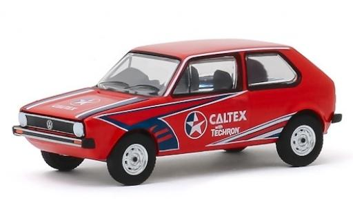 Volkswagen Golf 1/64 Greenlight Mk1 RHD Caltex 1975 miniature