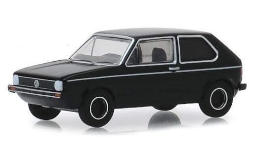 Volkswagen Golf 1/64 Greenlight Mk1 noire RHD 1976 miniature
