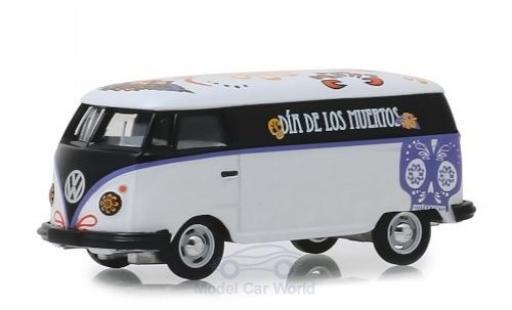 Volkswagen T1 1/64 Greenlight Panel Van Dia de los Muertos miniature