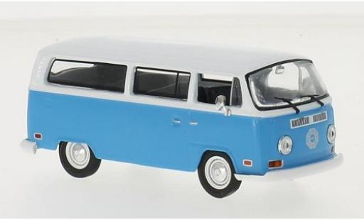 Volkswagen T2 1/43 Greenlight Bus bleue/blanche Lost 1971 DHARMA Van miniature