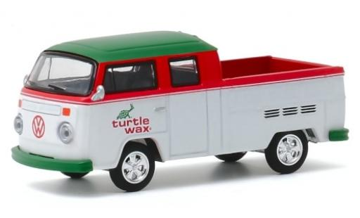Volkswagen T2 1/64 Greenlight DoKa Turtle Wax 1979 modellautos