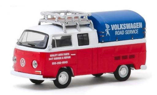 Volkswagen T2 1/64 Greenlight DoKa Road Service 1976 miniature