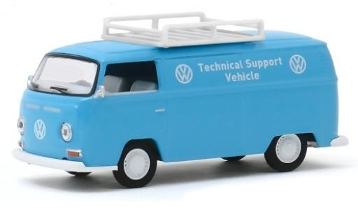 Volkswagen T2 1/64 Greenlight Kasten Technical Support Vehicle 1971 avec Rack de toit modellautos